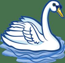 Cuento del número 2. Los 2 cisnes