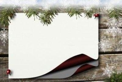 Escritura creativa para niños. Mi carta de Navidad
