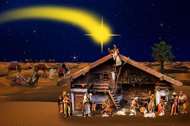 Fotos Del Nacimiento De Navidad.Origen De La Navidad Y Del Portal De Belen