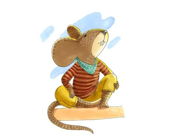 R. El ratón que quería cazar nubes