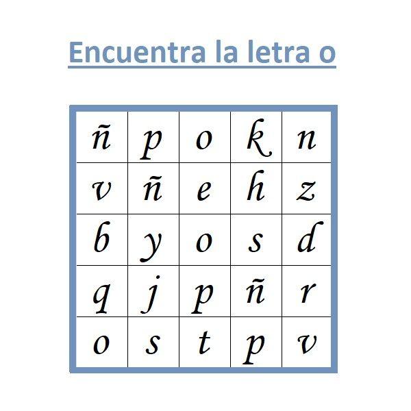 SOPA DE LETRAS INFANTIL. LAS VOCALES.