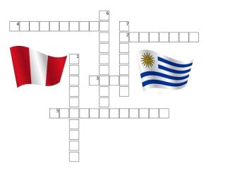 CRUCIGRAMA DE LAS CAPITALES DE AMÉRICA DEL SUR (II)
