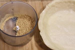 tarta de manzana con masa quebrada