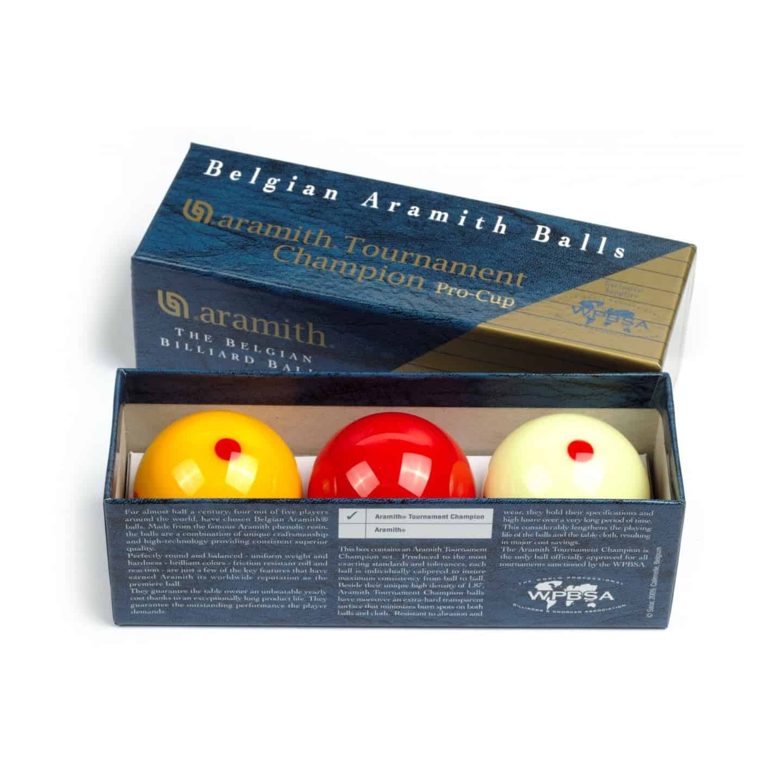 Aramith Pro Cup Tournament Champion Snooker Ball Set w// FREE Shipping