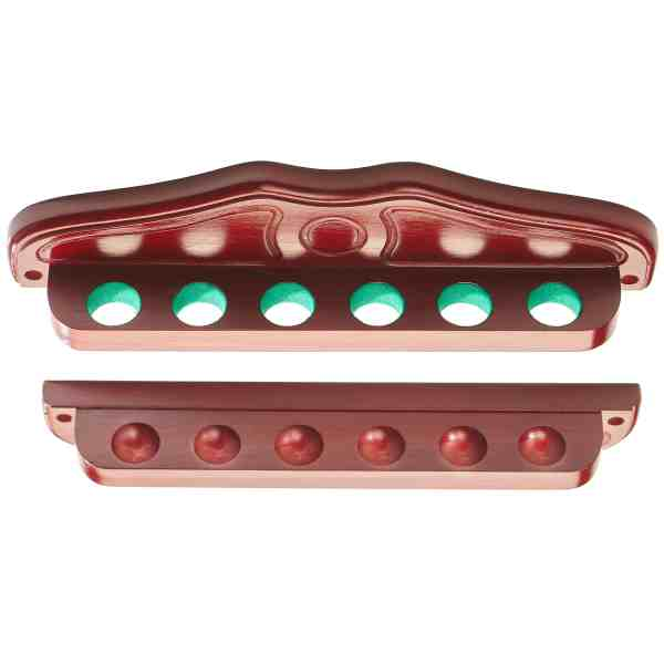 Peradon Club Quality Cue Rack with Baize Lined Holes