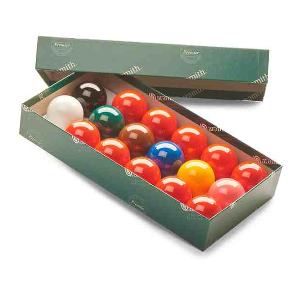 Aramith Premier Pro 2 Inch Tournament Quality Snooker Balls for a Coin Mech Pool Table