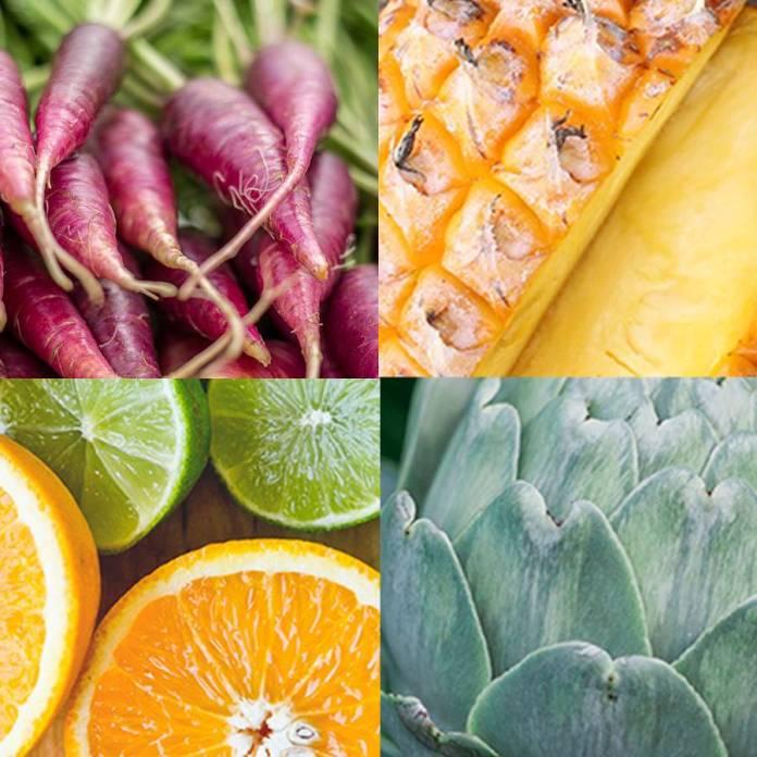 Frutas y verduras de temporada todo el año