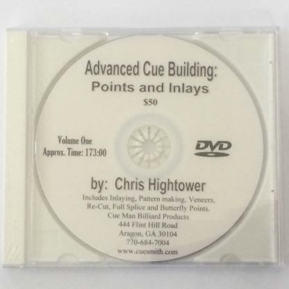Advanced Cue Building DVD Volume 1: Points and Inlays!-0