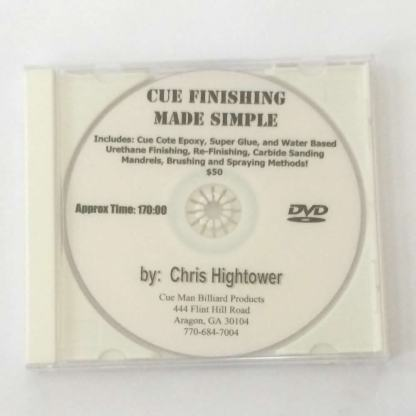 Cue Finishing Made Simple DVD-0