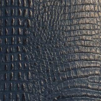 leather wrap blue gator