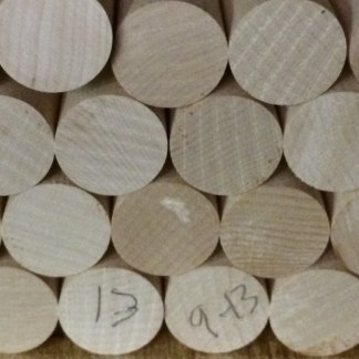 round maple handle dowels for cues