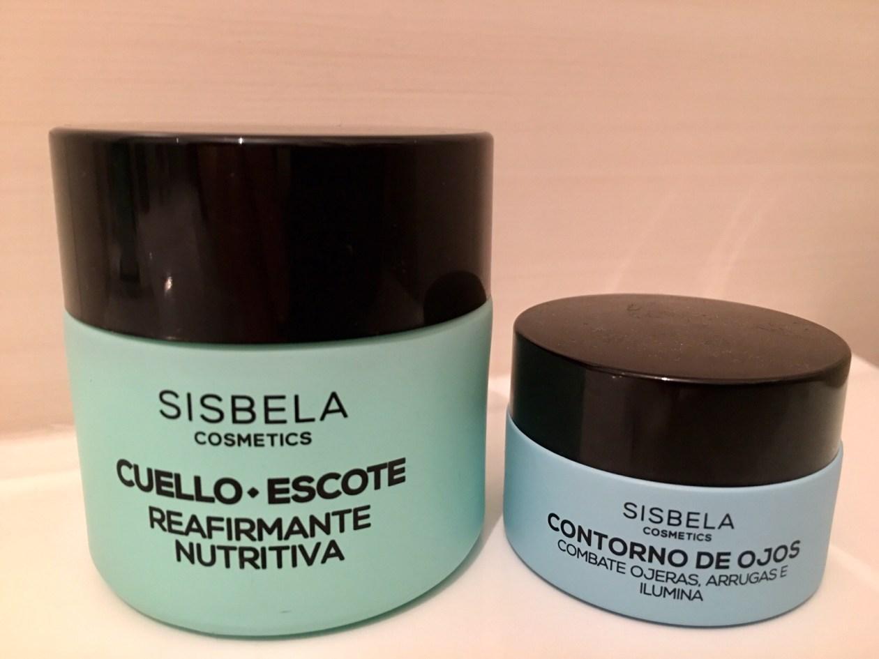 Más productos para los cuidados faciales. Crema reafirmante nutritiva y contorno de ojos. Los dos de Sisbela