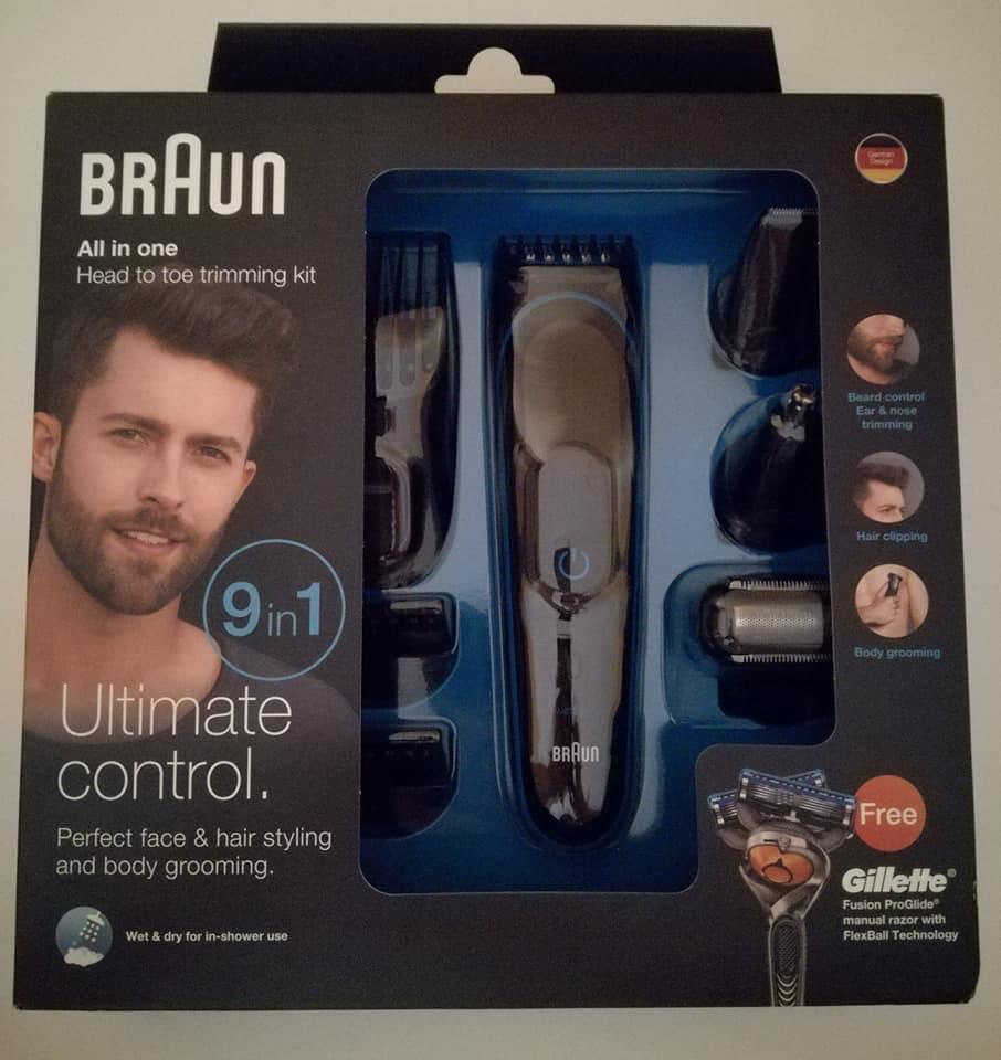 Nuevo set de afeitado multifunción MGK3080 de Braun que hemos probado