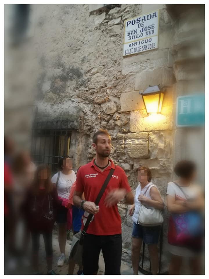 Este es Diego, nuestro guía durante nuestra estancia en Cuenca, de la agencia Cuenca Viajes, os la recomiendo si vais a la ciudad.