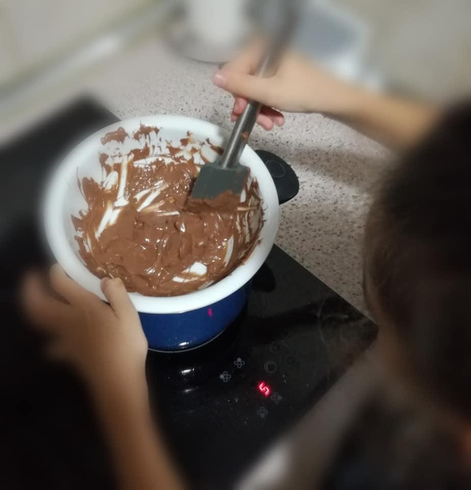 bombones de chocolate segunda receta