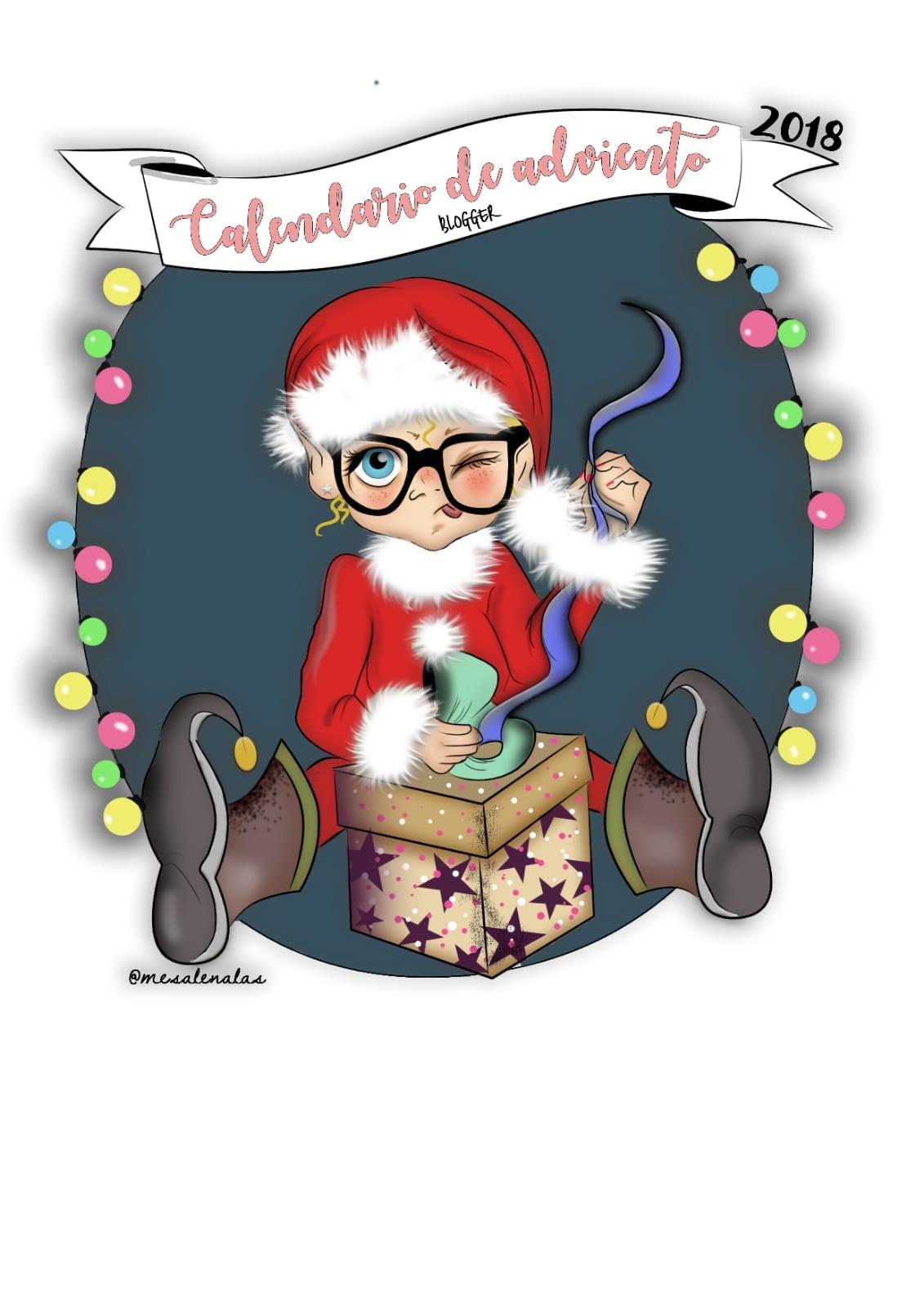 Cinco cuentos sobre la Navidad, logo del calendario de Adviento