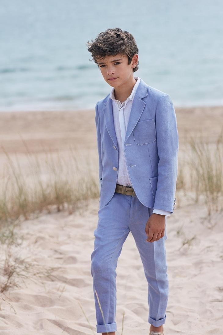 Trajes de Comunión para niño. Traje de chaqueta moderno
