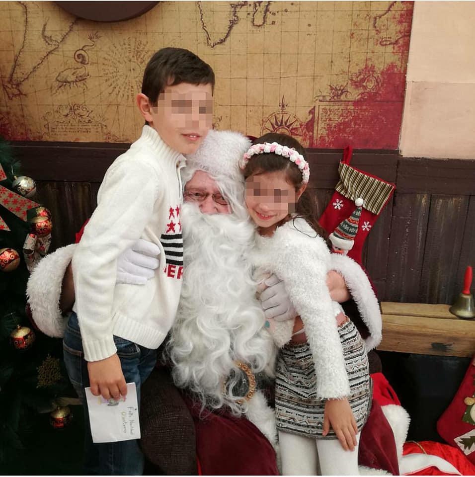 Imagen de nuestra visita a La Casa de Papá Noel en Alicante el año pasado. Fue una de nuestras actividades para el calendario de Adviento