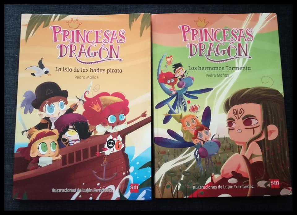 Últimos libros que han llegado a nuestra casa. Las princesas dragón 4 y 5