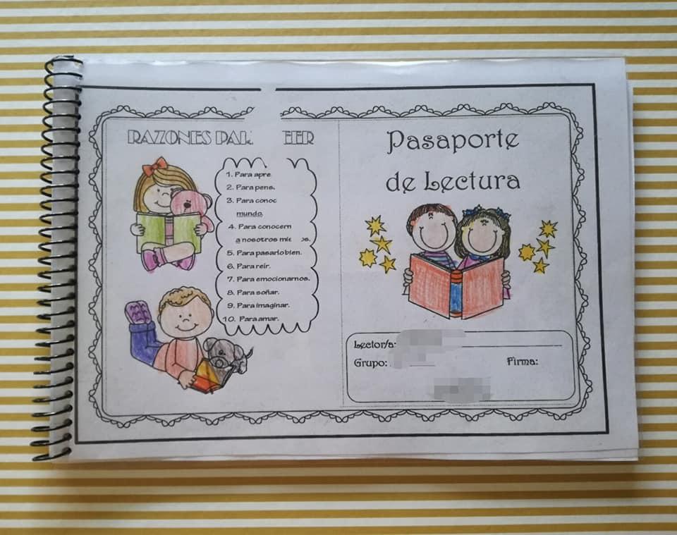 Modelo de pasaporte que han usado en la clase de mi pequeña. Intentaremos rellenar otro como una de nuestras actividades de verano