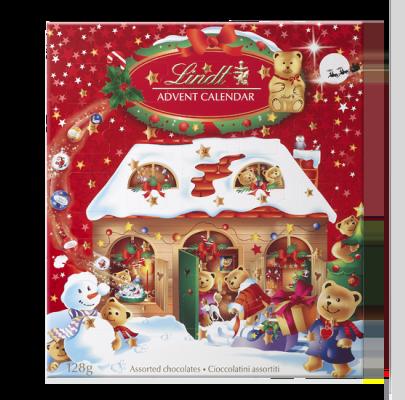 Comprar un Calendario de Adviento de chocolate como el de Lindt es una buena opción pero no la más saludable para nuestros hijos e hijas