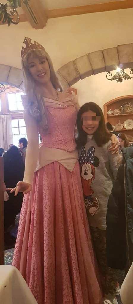 Aurora y mi pequeña