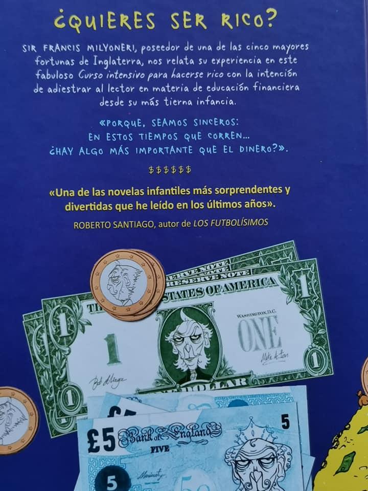 contraportada del libro Curso intensivo para hacerse rico