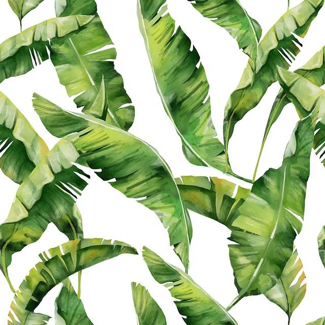 Un vinilo parecido a las hojas verdes de la imagen es lo que busca mi hija. Gracias a los 5 consejos de decoración que os damos ella encontró su estilo de decorar