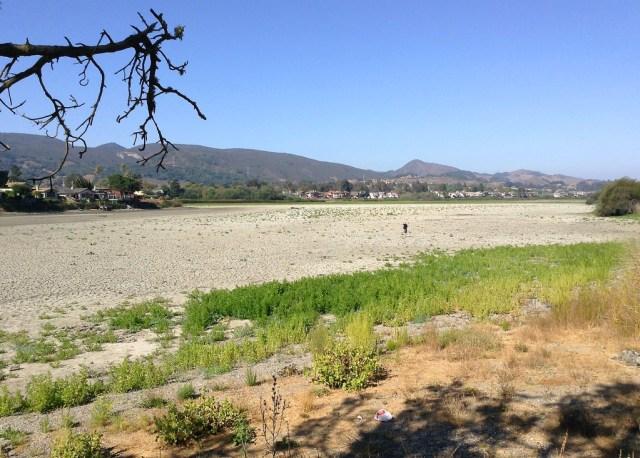 Dry Laguna Lake, September 2014
