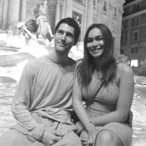 Cuesta student Jordan Kasow and Haley Cardaron in Italy. Photo courtesy of Jordan Kasow / Cuesta Student