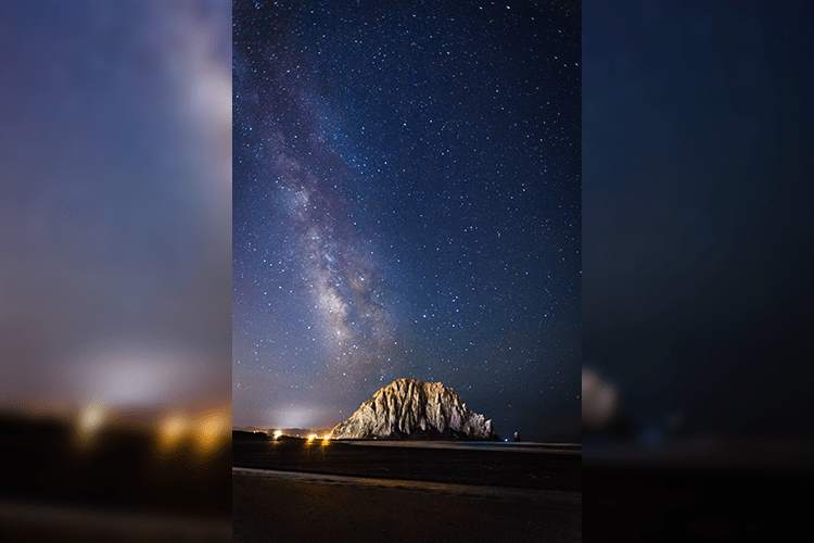 The Galaxy Laids Upon the Rock
