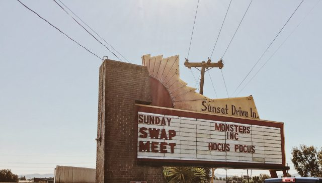 the sunset drive-in