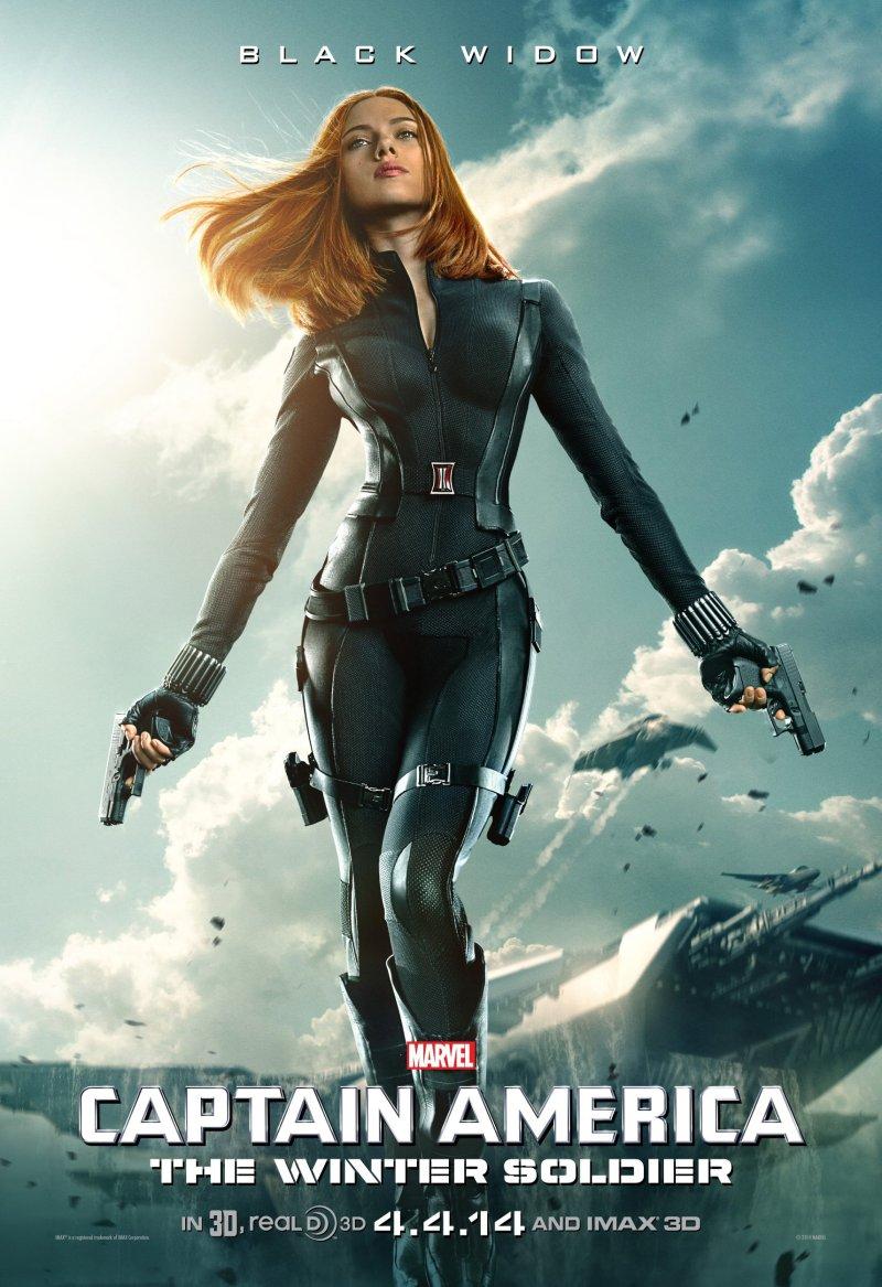 Captain America Winter Soldier Scarlet Johansson