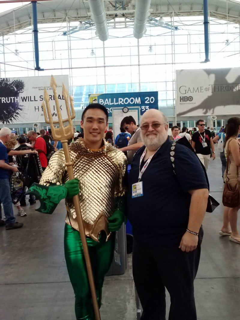 Cosplay de Aquaman Randomality