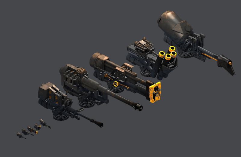 Matador Weapons