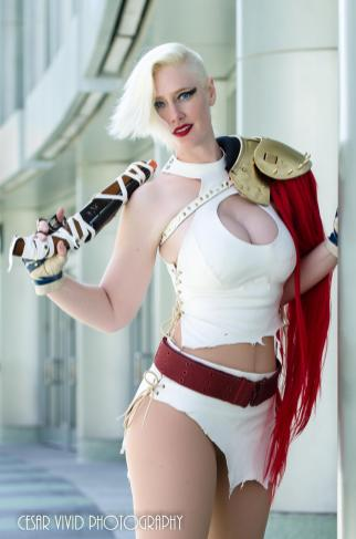 Vegas PG Post Apocaliptic Power Girl