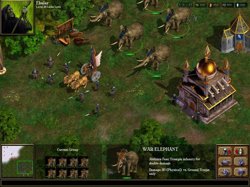 Warlords Battlecry Screen 1