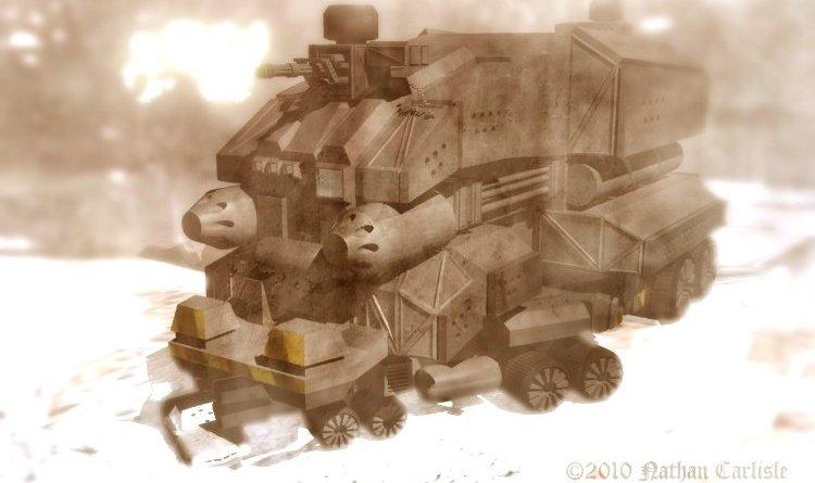 Armored Transport II por ShamanX