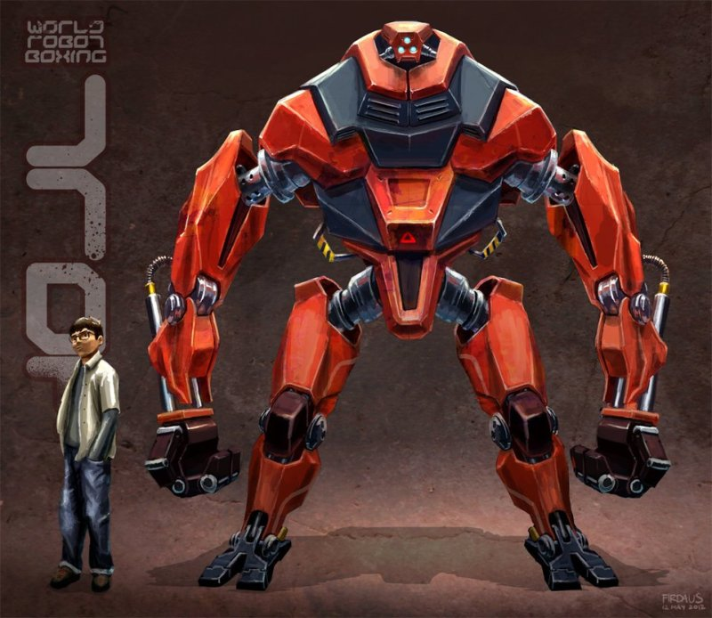 World Robot Boxing - Troy por Freakyfir