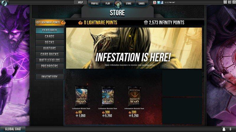 Tienda de Infinity Wars