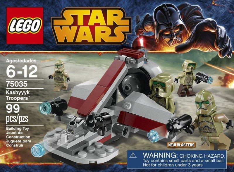 LEGO Star Wars 2014 Kashyyk Troopers