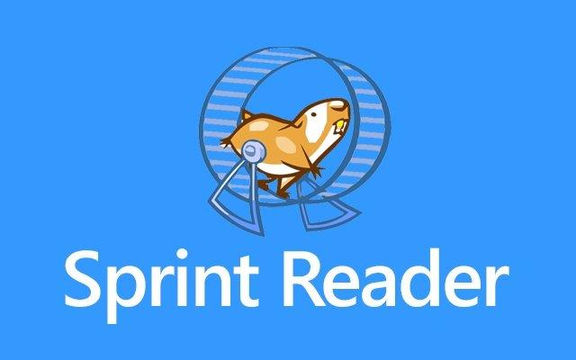 sprint reader lectura rápida