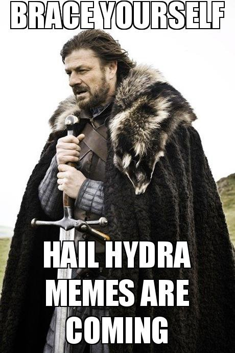 Hail Hydra Winter
