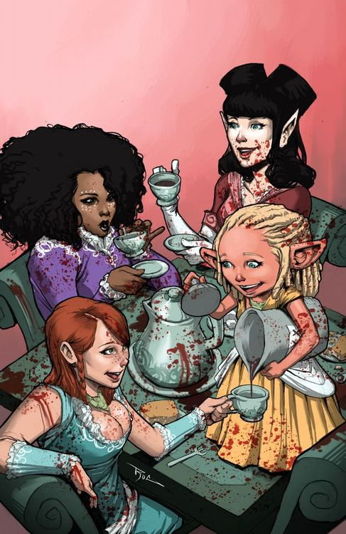 Rat Queens Tea Party