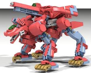Empire Command Wolf Zoid