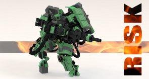 Tau XV87 Risk Battlesuit