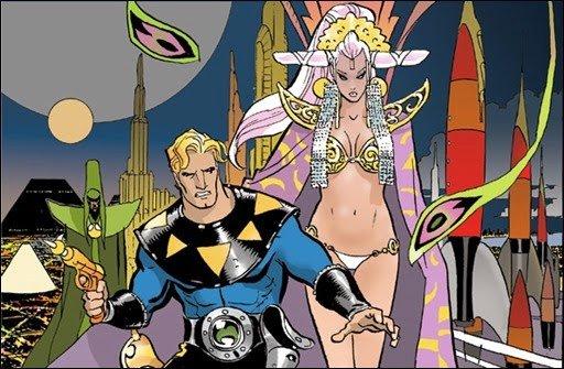 Starlight Hero and Queen