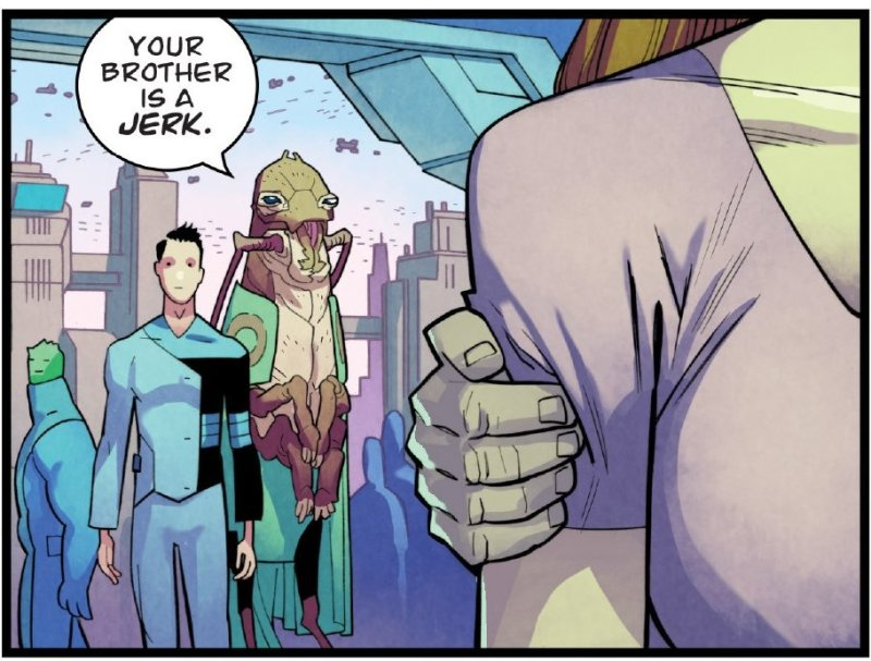 Invincible Your Brother is a Jerk