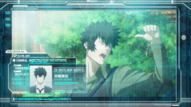 Psycho Pass the movie 1