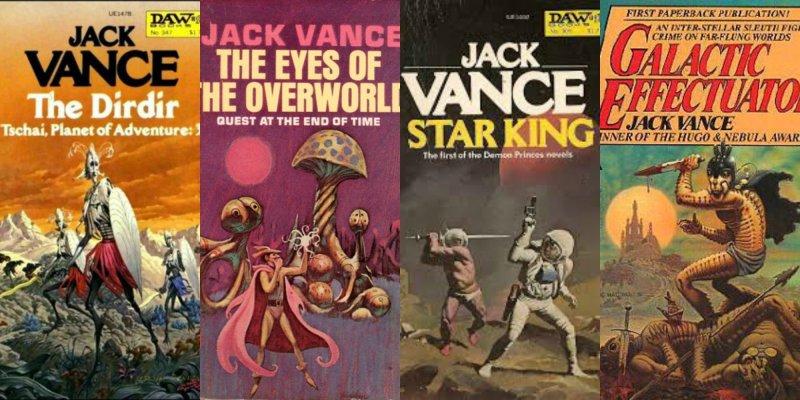 Jack Vance Collage
